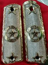 1911 grips german silver texas