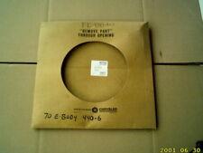 NOS 1970 - 71 CUDA & CHALLENGER 440 SIX PACK ACCELERATOR CABLE MOPAR