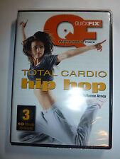 Quick Fix Total Cardio Hip-Hop Workout DVD fitness Julianne Arney Gaiam NEW!