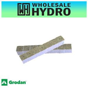 50 Pack Hydroponic Grodan Rockwool Cubes 40 x 40 x 40mm For Cuttings & Seedlings