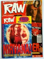 Raw 119 March 1993 March (Many Metal Hammer Kerrang mags also listed)