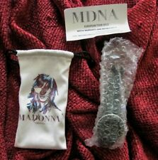 Madonna SEALED MDNA TOUR VIP ONLY Promo WATCH & INSERT & PLASTIC COVER BAG Cover