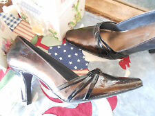 Ladies Life Stride , Shiny Copper Shoes, Pumps sz. 7.5 Med.