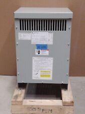 NEW GE 15kva Transformer 3 Phase 480v-208v/120v Delta Wye 460v 440v 220v EE