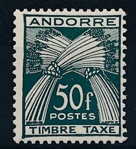 [31970] Andorra Fr. 1946/50 Good postage due stamp Very Fine MH