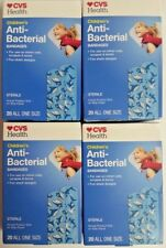 """4 Boxes of Children's Anti-Bacterial Sterile Band-Aids 20 Per Box - 3"""" x 3/4"""""""