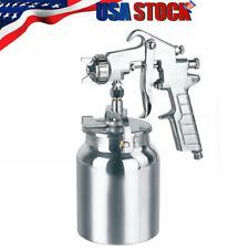 1.8mmNozzle Spray Gun Paint Sprayer Hand Tool Air Pneumatic Pressure Siphon Feed