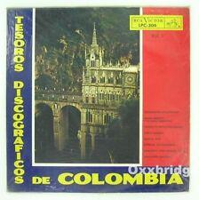TESOROS DISCOGRAFICOS DE COLOMBIA Funk Cumbia Rare Import Latino LATIN Vinyl LP