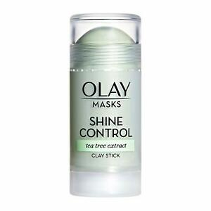 Face Masks by Olay Shine Control with Tea Tree Extract 1.7 oz Facial Mask Stick