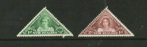 A LOVELY 1943 NEW ZEALAND MINT SET OF 2 HEALTH STAMPS