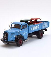 """Schuco 03026 Mercedes Benz L6600  Werk Gaggenau """" Unimog """" ,1:43 ,OVP, B305"""