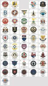 Metal Pin Scotland Football Clubs European Soccer