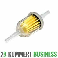 Kummert Kraftstofffilter Vorfilter Filter Benzinfilter Transparent 6/8mm