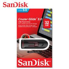 SanDisk 16GB 32GB 64GB Cruzer Glide USB Flash Pen Drive USB 3.0 SDCZ600