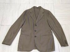 NWT $1003 GIORGIO ARMANI MEN'S BAMBOO 3 BUTTON DOWN BLAZER JACKET SIZE: 50R