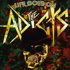 "THE ADICTS ""LIFE GOES ON"" CD PUNKROCK NEU"