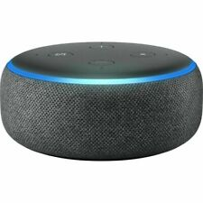 Amazon Echo Dot 3rd Generation with Alexa Voice Media Device - Charcoal