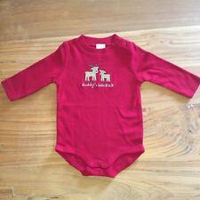 "Gymboree ""Daddy's Sidekick"" Reindeer Red Baby-grow 3-6 Months"
