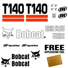 Bobcat T140 Skid Steer Set Vinyl Decal Sticker 21 PC SET + FREE DECAL APPLICATOR