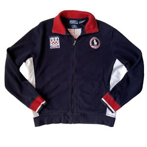 Polo Ralph Lauren Vancouver 2010 Olympic Team USA Soccer Warm Up Jacket L
