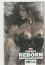 Heroes Reborn # 1 Artgerm Variant Cover NM Marvel