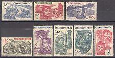 CSSR Nr. 1463-1470** Kosmonauten / Astronauten