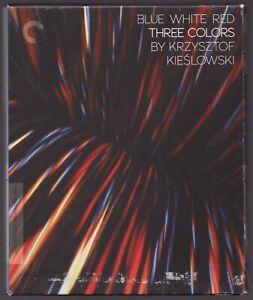 THREE COLORS - BLUE WHITE RED / Kieslowski / 3 x Blu-ray DigiPack / Criterion