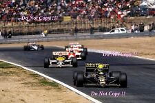 Ayrton Senna JPS Lotus 98T Winner Spanish Grand Prix 1986 Photograph 5