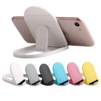 Universal Adjustable Mobile Phone Holder Stand Desk Swivel Foldable Portable AL