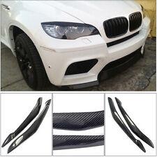 For BMW X5 E70 2007-2013 Carbon Fiber Headlight Eyelids Trim Eyebrow Accessories