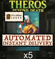 MAGIC MTG Arena Code: 5 Boosters Theros Beyond Death Promo Pack INSTANT EMAIL