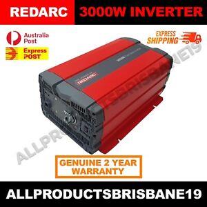 REDARC 3000W 12V - R-12-3000RS PURE SINE WAVE INVERTER Vehicle Power 240V Car