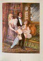 Victorian Era Erotik Akt Nude Penis Vagina Sex Orgy Grafik Love Art England 1880