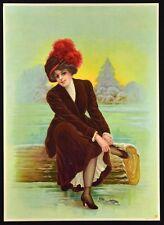 Vintage Victorian Print. Chromolithograph #5961. Germany. NICE! c.1910's.