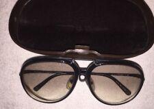 PORSCHE DESIGN CARRERA Vintage Sunglasses 5632 40 6512 Small Black 2 Lenses Case