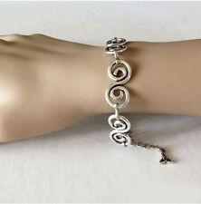 bijou celtique elfique medieval mariage Bracelet volutes celtiques et triquetra