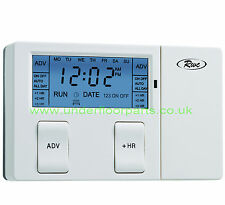 Single / 1 Channel  Timeswitch RW1 Electronic Heating Reliance Timeclock