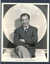 SUPERB 1941 PORTRAIT OF BING CROSBY - PARAMOUNT PICTURES CROONER