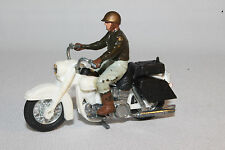 1970's Britains #9692, U.S. Sheriff on Harley Davidson Motorcycle