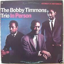 Bobby Timmons/Trio/In Person/RLP9391/Riverside/VG+/DG