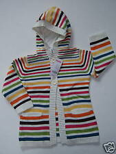 NWT Gymboree Lots of Dots Stripe Hoodie Sweater 4T 4