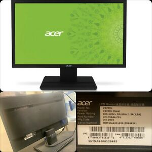 "Acer Professional V276HL 27"" LCD Monitor Led Black UM.HV6AA.C01 Full HD w/ Stand"