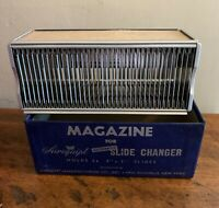 Airequipt Automatic Slide Projector Magazine 2 x 2 36 Slides Changer Vintage