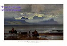 Puerto Montt Llanquihue Chile XL Kunstdruck 1924 von Alf Bachmann † Ambach +