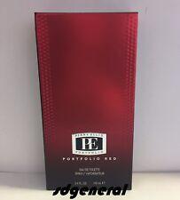 PORTFOLIO RED BY PERRY ELLIS - Men 3.4 oz / 100 ml Eau de Toilette New in Box