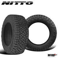 2 X New Nitto Ridge Grappler 285/70R17 121/118Q All-Terrain Tire