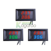 Dual Digital Temperature Sensor Waterproof Thermometer LED Display NTC Probe