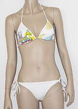 billaBONG KIANA BASIC Triangle Bikini Girl  Neckholder Damen  white  Größe XS