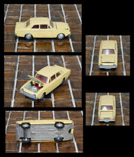 Vintage Mini Dinky 10 Ford Corsair Yellow Made in Hong Kong Late 1960's NICE