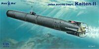 Mikro Mir 35-019 - 1/35 Kaiten-II japan suicide torpedo scale model kit